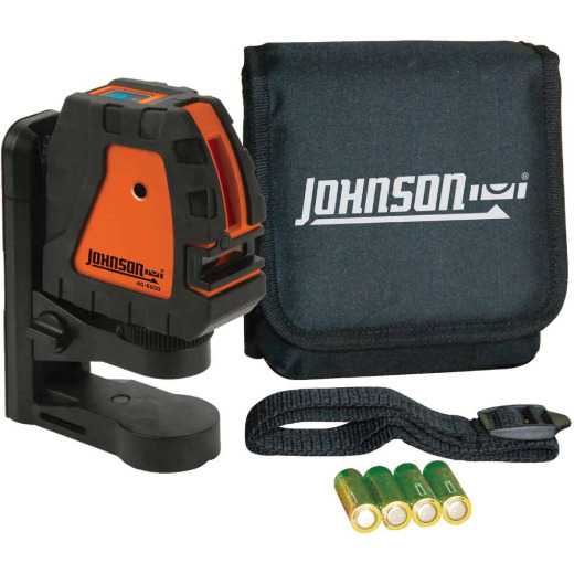 Johnson Level 150 Ft. Self-Leveling Cross-Line Laser