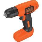 Black & Decker 8 Volt Lithium-Ion 3/8 In. Cordless Drill Kit Image 6
