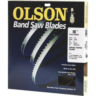 Olson 80 In. x 1/4 In. 6 TPI Skip Flex Back Band Saw Blade
