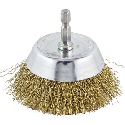 Do it 3 In. Coarse Drill-Mounted Wire Brush