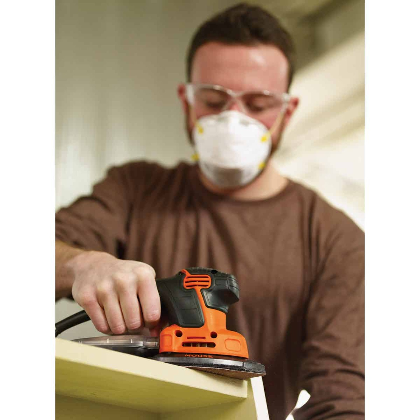 Black & Decker Mouse 10 In. 1.2A Finish Sander Image 2