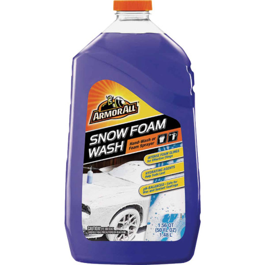 Armor All 50 Oz. Liquid Snow Foam Car Wash
