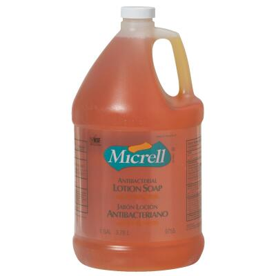 Micrell 1 Gal. Antibacterial Liquid Lotion Hand Soap