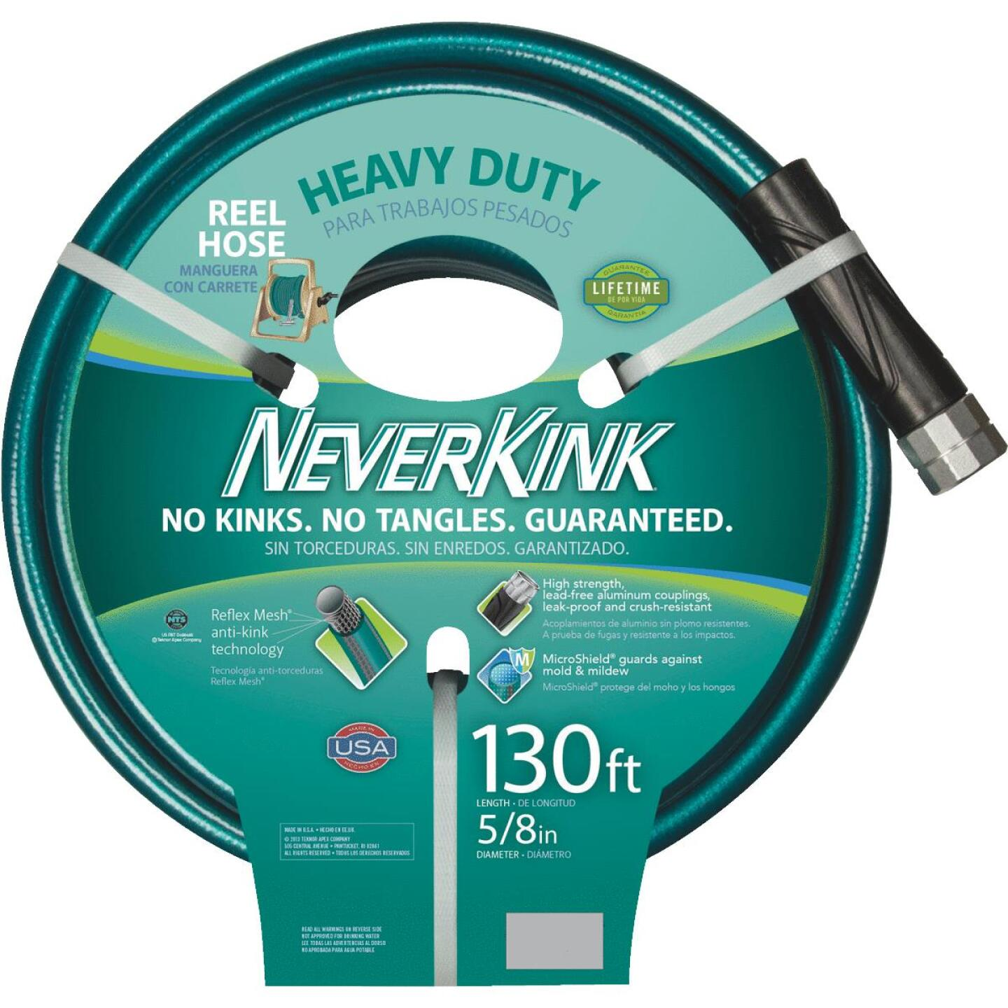 Neverkink 5/8 In. Dia. x 130 Ft. L. Heavy-Duty Garden Hose Image 2