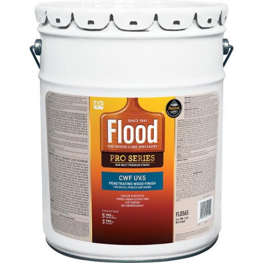 Flood CWF - UV5 Pro Series Wood Finish Exterior Stain, Cedar, 5 Gal.