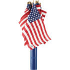 Valley Forge 12 In. x 18 In. Polycotton Stick American Flag Image 2